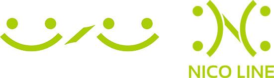 nicolineのロゴの説明画像